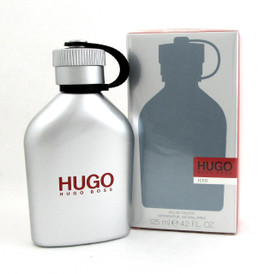 Hugo Boss ICED Men Cologne EDT Spray 4.2 oz./125 ml. Brand new. Sealed.
