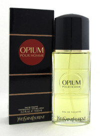 Opium POUR HOMME Cologne by YvesSaintLaurent 3.3 oz EDT Spray Men New No cellophane