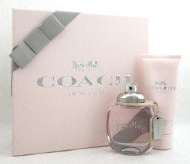 Coach New York Women's Perfume Gift Set: 1.7oz.EDT Spray+3.3oz.B/Lot. Brand New.
