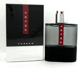 Prada Luna Rossa Carbon Cologne 3.4oz/100ml Eau de Toilette Spray Men. Brand new