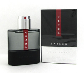 Prada Luna Rossa Carbon Cologne 1.7oz/ 50ml Eau de Toilette Spray Men. Brand new