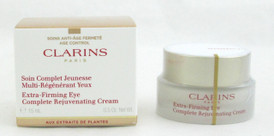 Clarins Extra-Firming Eye Complete Rejuvenating Cream for Women 0.5 oz/15 ml NIB