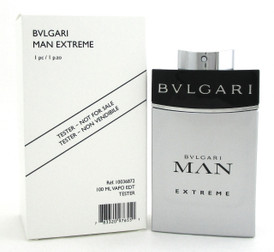 Bvlgari Man Extreme Cologne 3.4 oz. Eau de Toilette Spray for Men. New Tester.
