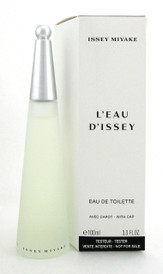 L'EAU D'ISSEY by Issey Miyake Perfume 3.3 oz EDT Spray for Women. New Tester.