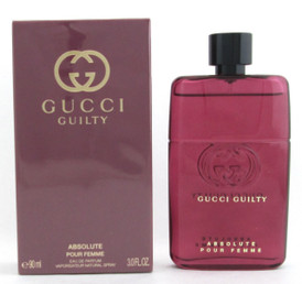 Gucci Guilty Absolute Pour Femme Eau De Parfum Spray For Women 90 ml./ 3.0 oz. Sealed New