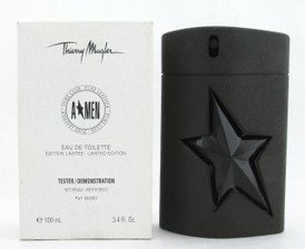 Amen Pure Leather by Thierry Mugler Eau De Toilette Spray Limited Edition for Men 100 ml./ 3.4 oz. *Tester