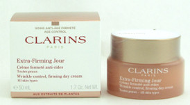Clarins Extra Firming Jour Wrinkle Control, Firming Day Cream All Skin Types 50 ml./ 1.7 oz. New