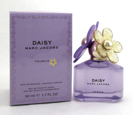 Marc Jacobs Daisy Twinkle 1.7oz./ 50ml. Eau de Toilette Spray for Women. NEW.