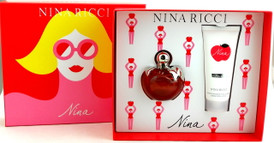 Nina by Nina Ricci Eau de Toilette Spray 2.7 oz.+ Creamy Body Lotion 3.4 oz. Brand new set.