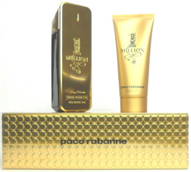 1 Million Paco Rabanne 3.4oz.EDT Spray+3.4oz.SH.Gel.for Men.Brand New