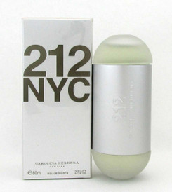 212 by Carolina Herrera Eau de Toilette Spray 2.0 oz.for Women Sealed