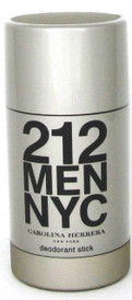 212 Men NYC by Carolina Herrera Deodorant Stick 2.1 oz./ 75 ml.