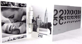 212 NYC Carolina Herrera EDT Spray Sample Vials PACK of 12 pcs.