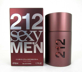 212 Sexy Men Eau de Toilette Spray for Men 1.7 oz. New in Box