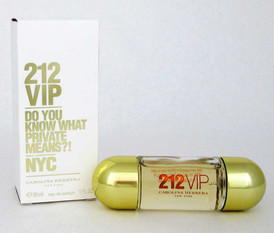 212 VIP by Carolina Herrera Eau de Parfum Spray 1.0 oz.Women.No Cello