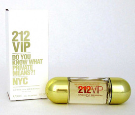 212 VIP Carolina Herrera EDP Spray 1.0 oz.for Women.New. Damaged Box