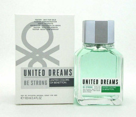 Benetton United Dreams Be Strong EDT Spray 3.4oz. for Men *Tester