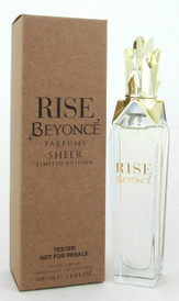 Beyonce Rise Sheer Eau de Parfum Spray 3.4 oz / 100 ml Women *Tester