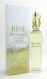 Beyonce Rise Sheer LTD Eau de Parfum Spray 3.4 oz /100 ml for Women