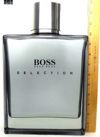 "Boss Selection by Hugo Boss Giant Factice Bottle with Liquid 13"" Tall"