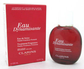 Clarins Eau Dynamisante Fragrance Spray 3.3 oz./100 ml Damaged Box