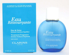 Clarins Eau Ressourcante Treatment Fragrance Spray/Splash 3.3 oz NIB