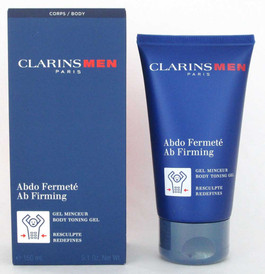 Clarins Men Ab Firming Body Toning Gel, Redefines 5.1 oz/ 150 ml NIB