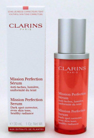 Clarins Mission Perfection Serum 30 ml/ 1 oz New In Box