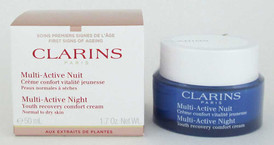 Clarins Multi-Active Night Youth Recovery Comfort Cream N/D 1.7 oz NIB
