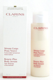 Clarins Renew Plus Body Serum Age-Defying Concentrate 6.8 oz/200 ml