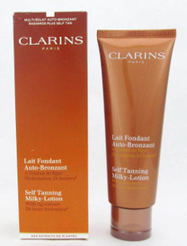 Clarins Self Tanning Milky-Lotion w/Fig Extract 125 ml Damaged Box