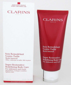 Clarins Super Restorative Redefining Body Care 6.9 oz. Damaged Box