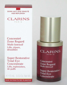 Clarins Super Restorative Total Eye Concentrate 0.53 oz/15ml NIB