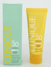 Clinique Sun SPF 30 Face Cream UVA/UVB 50 ml/ 1.7 oz Damaged Box