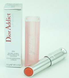 Dior Addict Lip Glow Color Awakening Lip Balm 004Coral 3.5g/0.12ozNIB