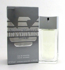 Emporio Armani Diamonds by Giorgio Armani EDT Spray 1.7oz Men *Damag