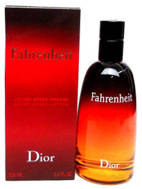 Fahrenheit Christian Dior After Shave Splash 3.4oz.New in Damaged Box