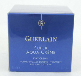 Guerlain Super Aqua Creme Day Cream 1.6 oz / 50 ml New In Box