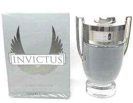 Invictus by Paco Rabanne Eau De Toilette Spray 5oz.Sealed Damaged Box