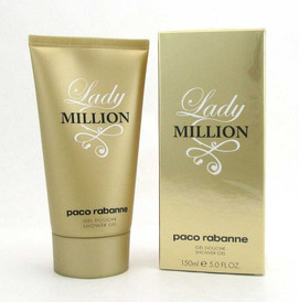Lady Million by Paco Rabanne Shower Gel 5.0 oz /150 ml for Women