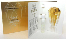 Lady Million EAU MY GOLD EDT Spray Sample Vials-Pack of 12 pcs.Sealed