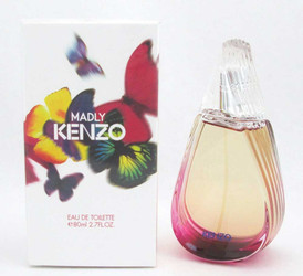 Madly Kenzo by Kenzo Eau De Toilette Spray for Women 2.7 oz NIB Sealed
