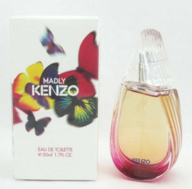 Madly Kenzo by Kenzo for Women Eau De Toilette Spray 1.7 oz/50 ml NIB