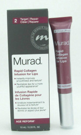 Murad Rapid Collagen Infusion For Lips 0.33 oz/10 ml NIB Sealed Tube