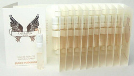 Olympea AQUA EDT Spray Paco Rabanne Lot of 12 x 1.5 ml.Each. Sealed