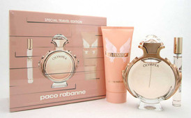 Olympea by Paco Rabanne 3 Pcs Gift Set for Women Travel Edition NIB
