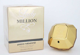 Paco Rabanne Lady Million Absolutely Gold Pure Perfume Spray 2.7 oz.