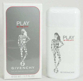 Play In The City by Givenchy Eau De Parfum Spray 1.7 oz / 50 ml NIB