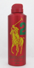 Ralph Lauren Big Pony Red # 2 Body Spray for Men 6.7 oz.*Tester