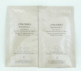 Shiseido Benefiance Pure Retinol Intensive Revitalizing Face Mask*Test(sku:17033
